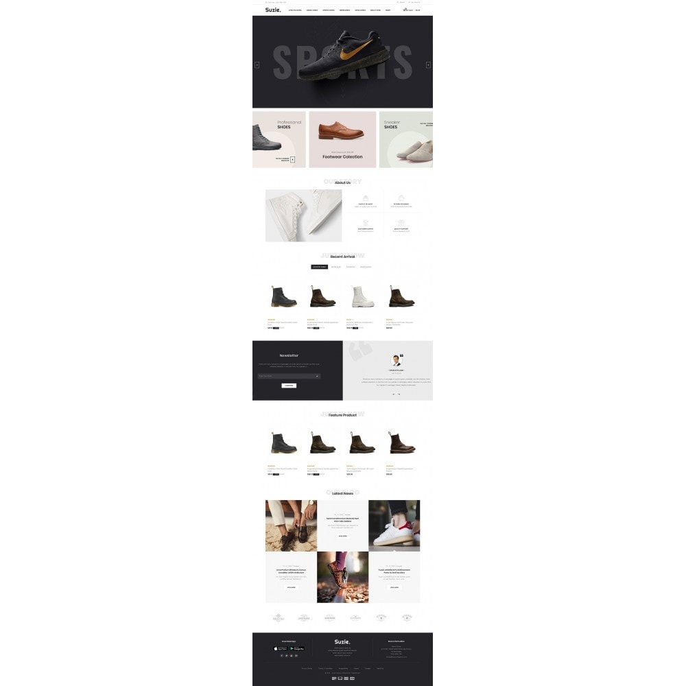 theme - Mode & Chaussures - Suzie - Shoes Store - 2