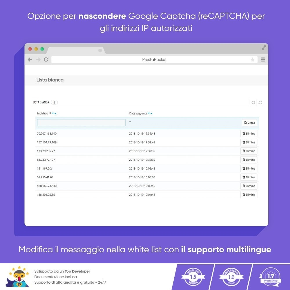 module - Security & Access - CAPTCHA Google reCAPTCHA PRO + anti Conti Contraffatti - 5