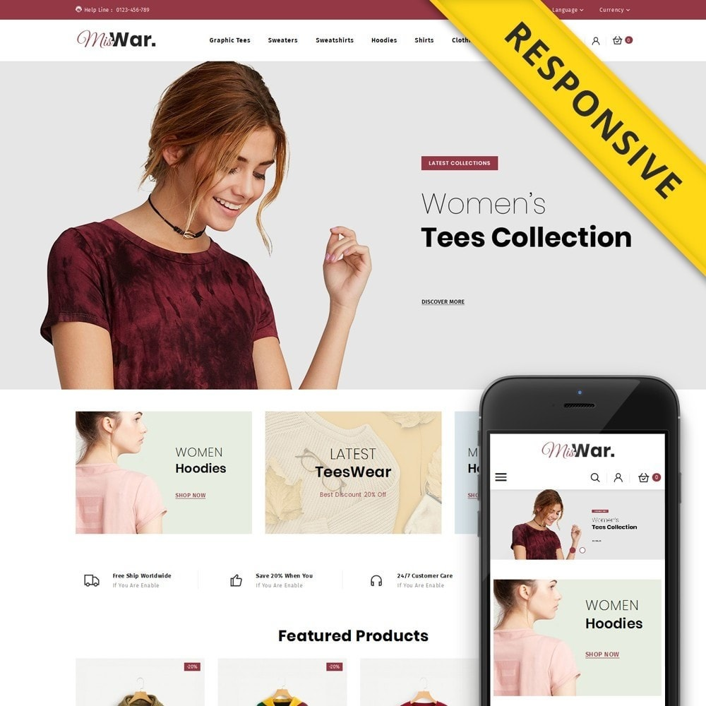 theme - Moda y Calzado - MisWar - Fashion Accessories Store - 1