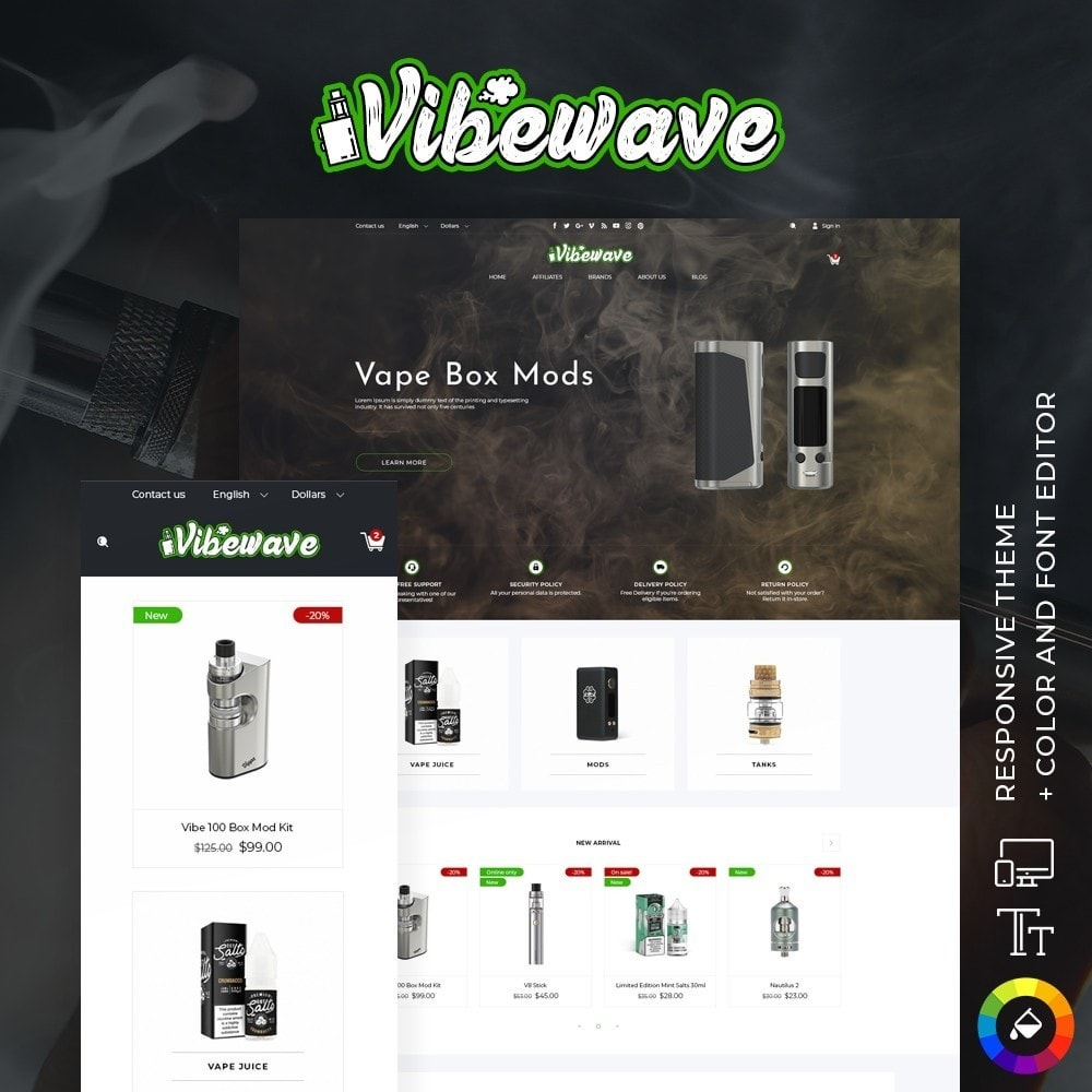 theme - Electronics & Computers - Vibewave - High-tech Shop - 1