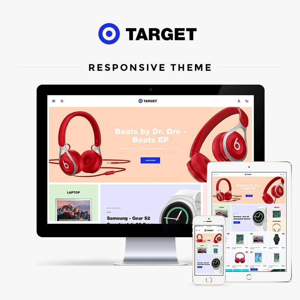 theme - Electronics & Computers - Target - High-tech Shop - 1