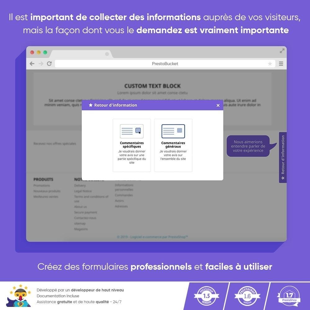 module - Avis clients - Customer FEEDBACK - Recueillir des Informations Vitales - 9