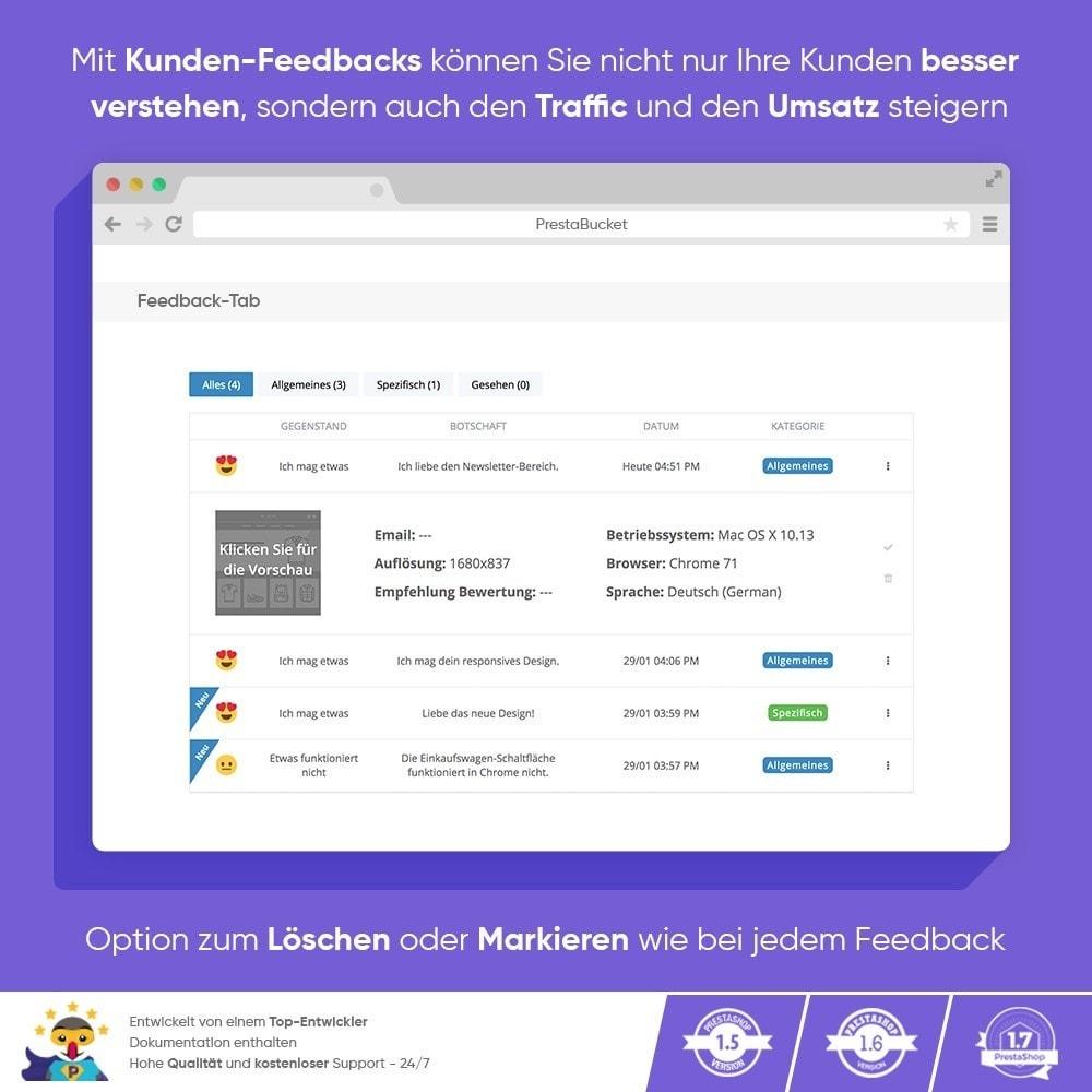 module - Kundenbewertungen - KUNDENFEEDBACK - Sammeln Sie Wichtige Informationen - 6
