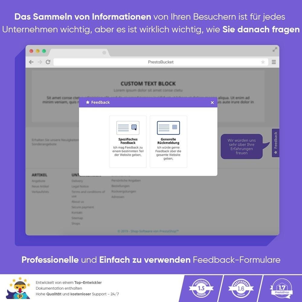 module - Kundenbewertungen - KUNDENFEEDBACK - Sammeln Sie Wichtige Informationen - 9