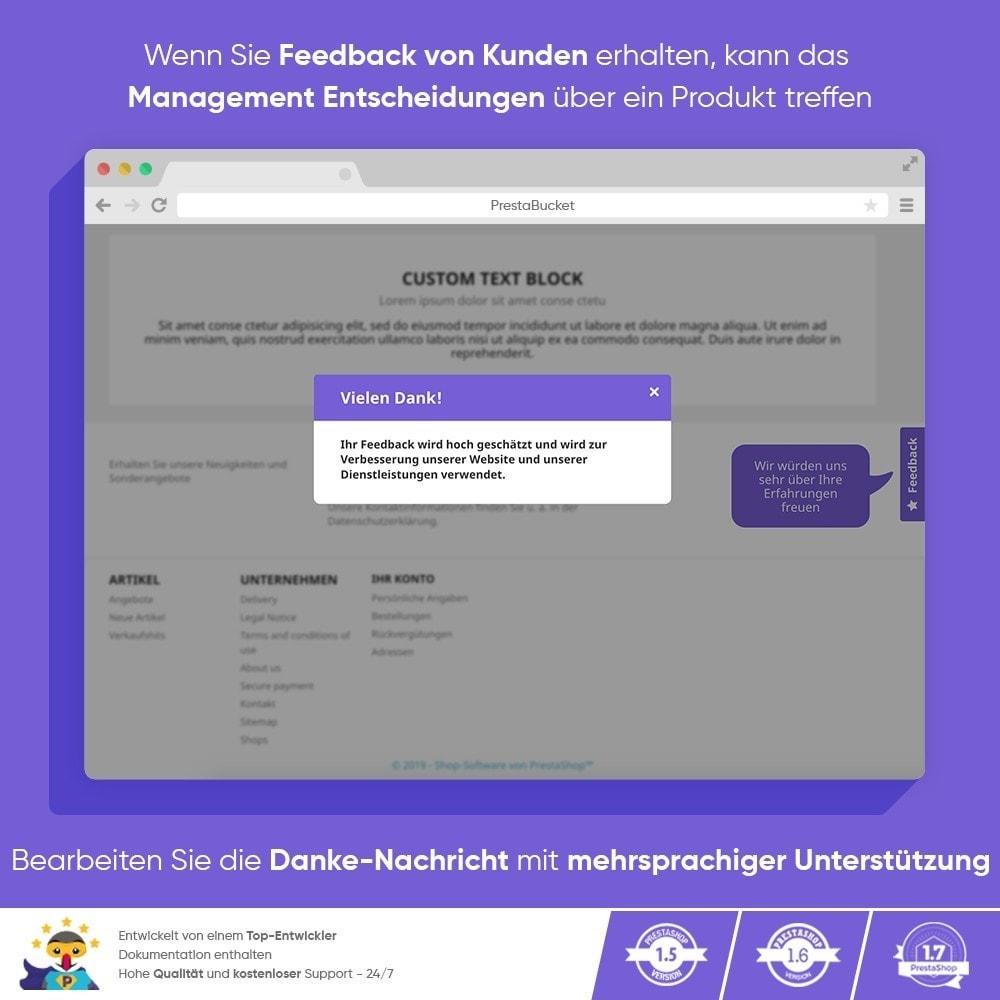 module - Kundenbewertungen - KUNDENFEEDBACK - Sammeln Sie Wichtige Informationen - 10