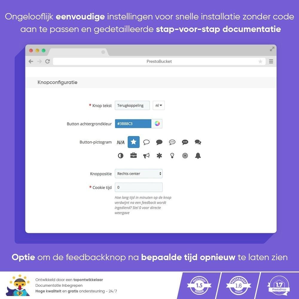 module - Klantbeoordelingen - Klant FEEDBACK - Verzamel Vitale Informatie - 2