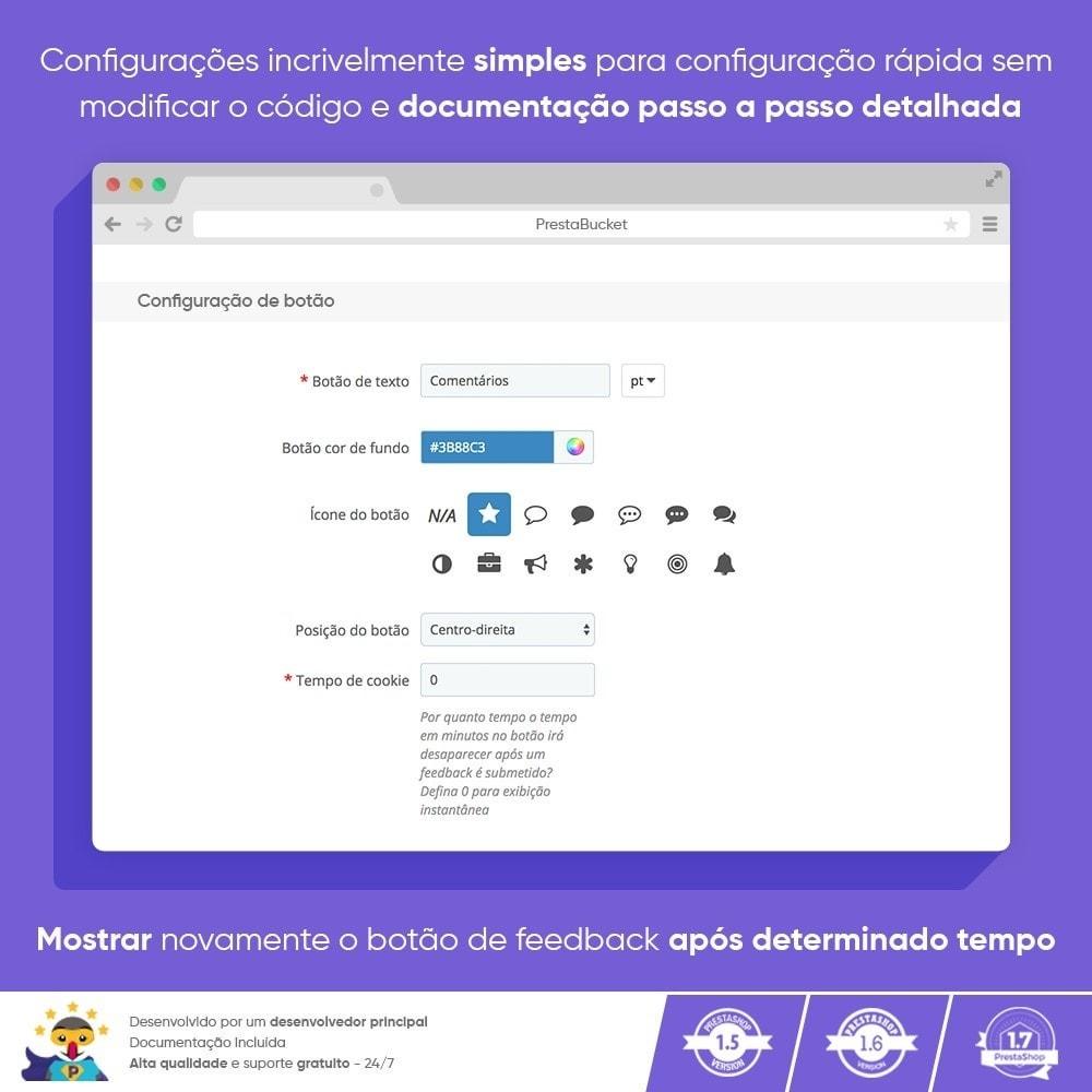 module - Opiniões de clientes - Cliente Avançado FEEDBACK Coletar Informações Vitais - 2