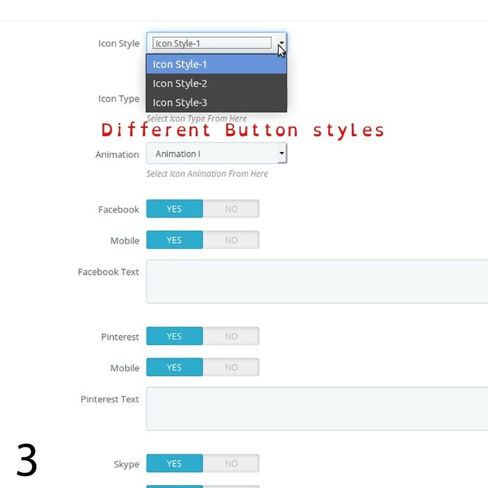 module - Rechtssicherheit - DSGVO Social Media Share Buttons Pro 2019 - 3