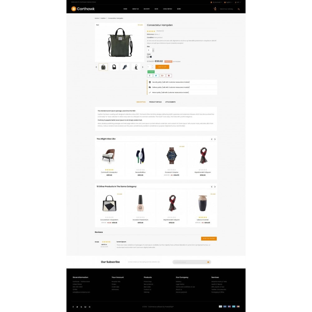 theme - Электроника и компьютеры - Carthawk - Multi purpose store - 5