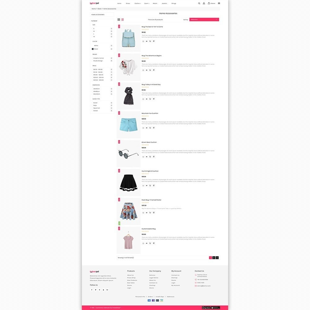theme - Moda & Calçados - Wearpal - The Fashion Store - 4