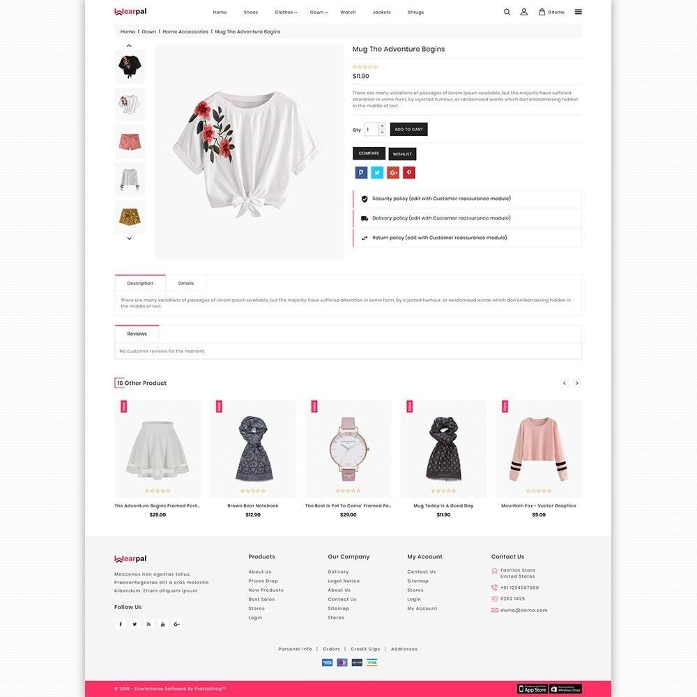 theme - Moda & Calçados - Wearpal - The Fashion Store - 5