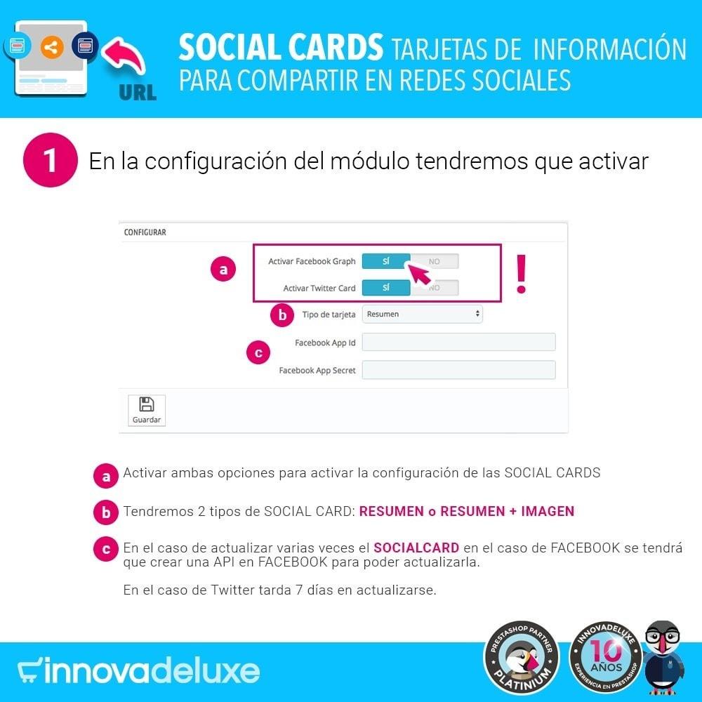 module - Compartir contenidos y Comentarios - SocialCards, tarjetas para compartir en redes sociales - 2