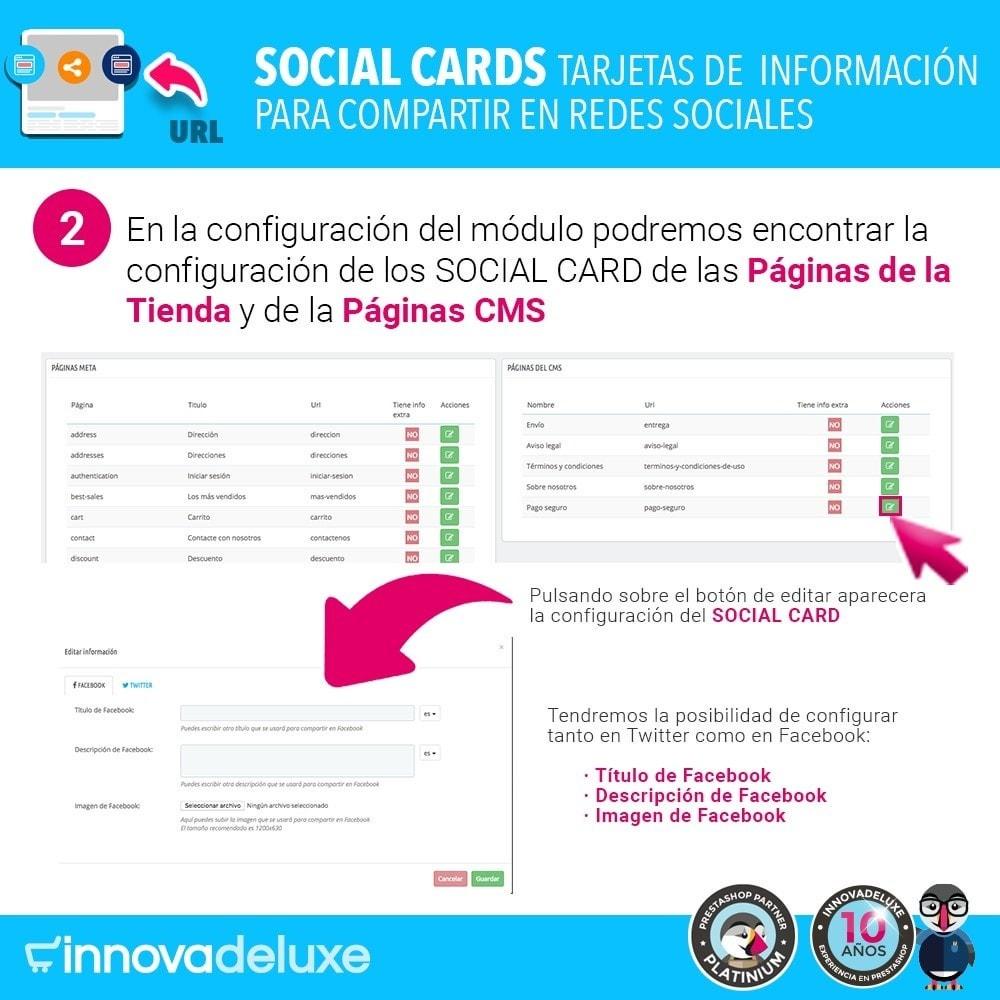 module - Compartir contenidos y Comentarios - SocialCards, tarjetas para compartir en redes sociales - 3