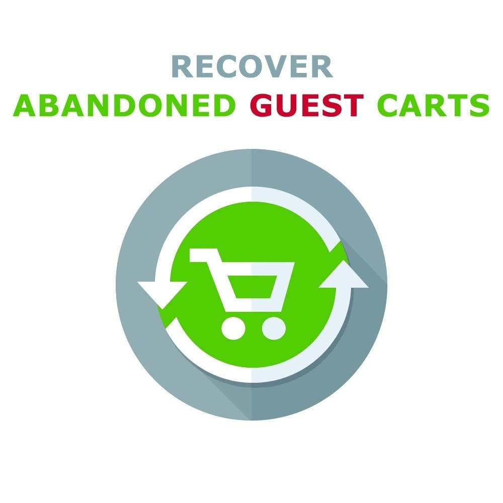 module - Remarketing & Compras abandonados - Recover Abandoned Guest Cart - 1