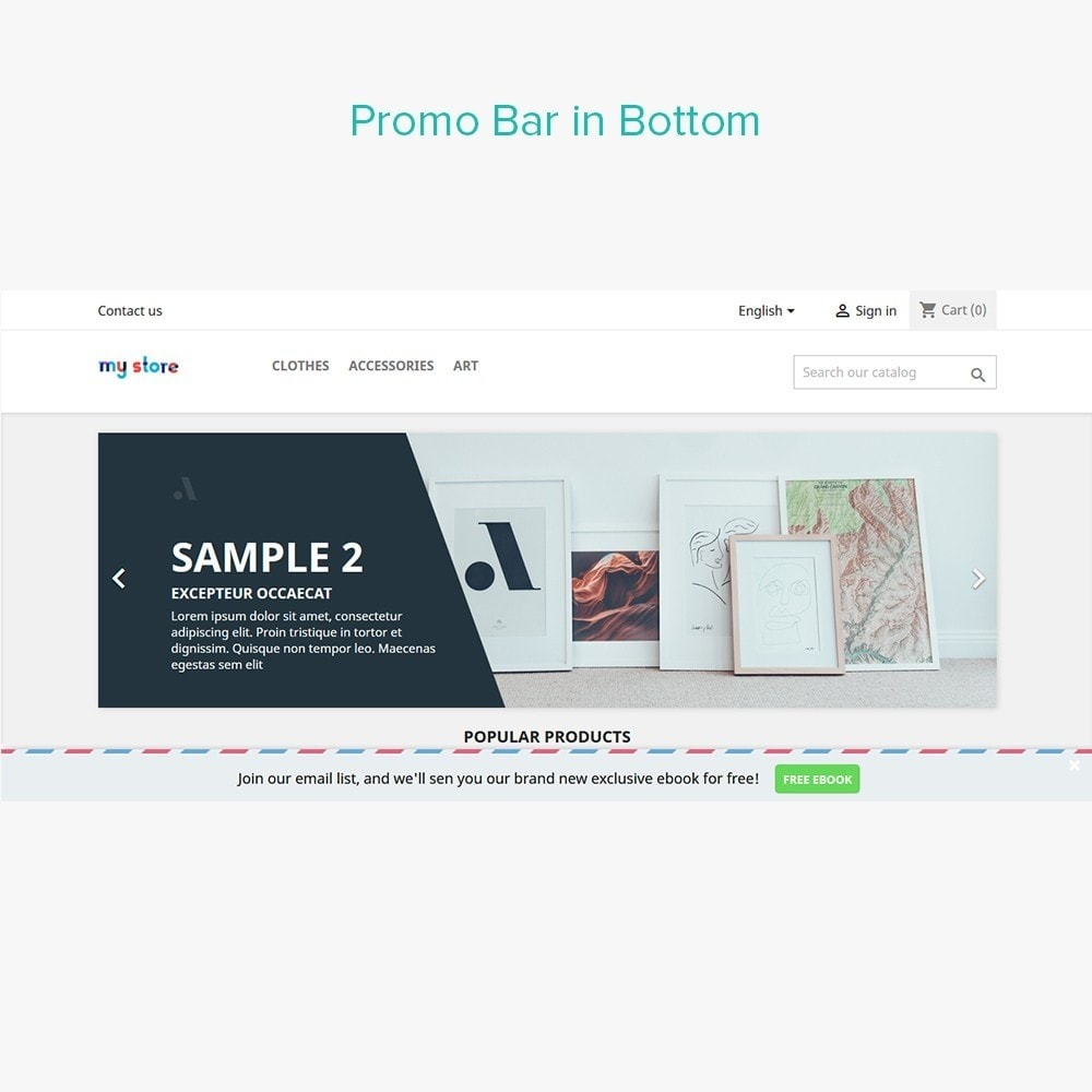 module - Flash & Private Sales - Flash Sales Promobar - 5
