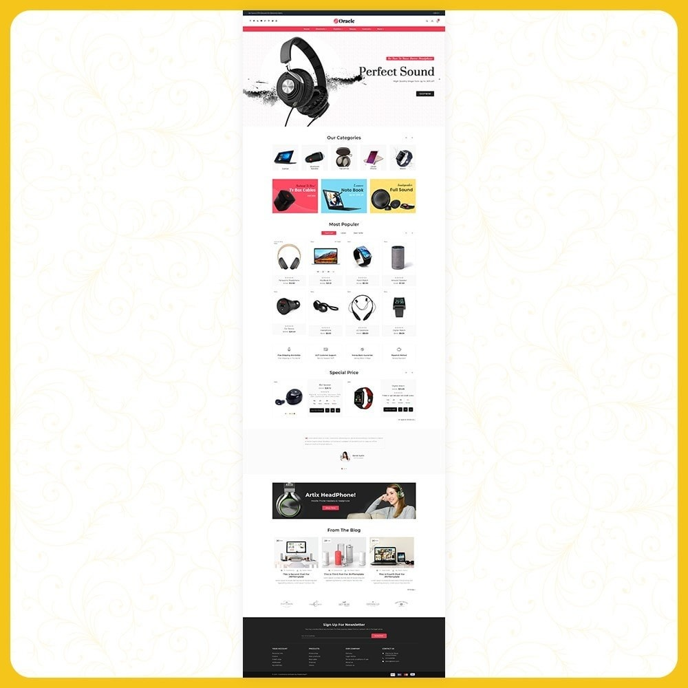 theme - Electronique & High Tech - Elettr Oracle - Electronics Store - 2