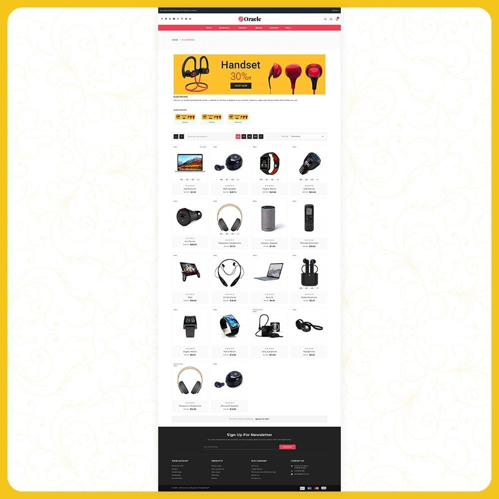 theme - Electronique & High Tech - Elettr Oracle - Electronics Store - 3