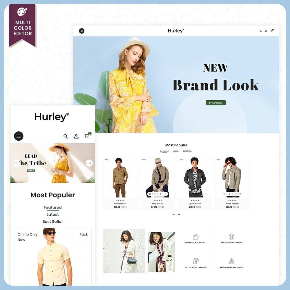 theme - Moda & Calçados - Hurley Fashion Store - 1