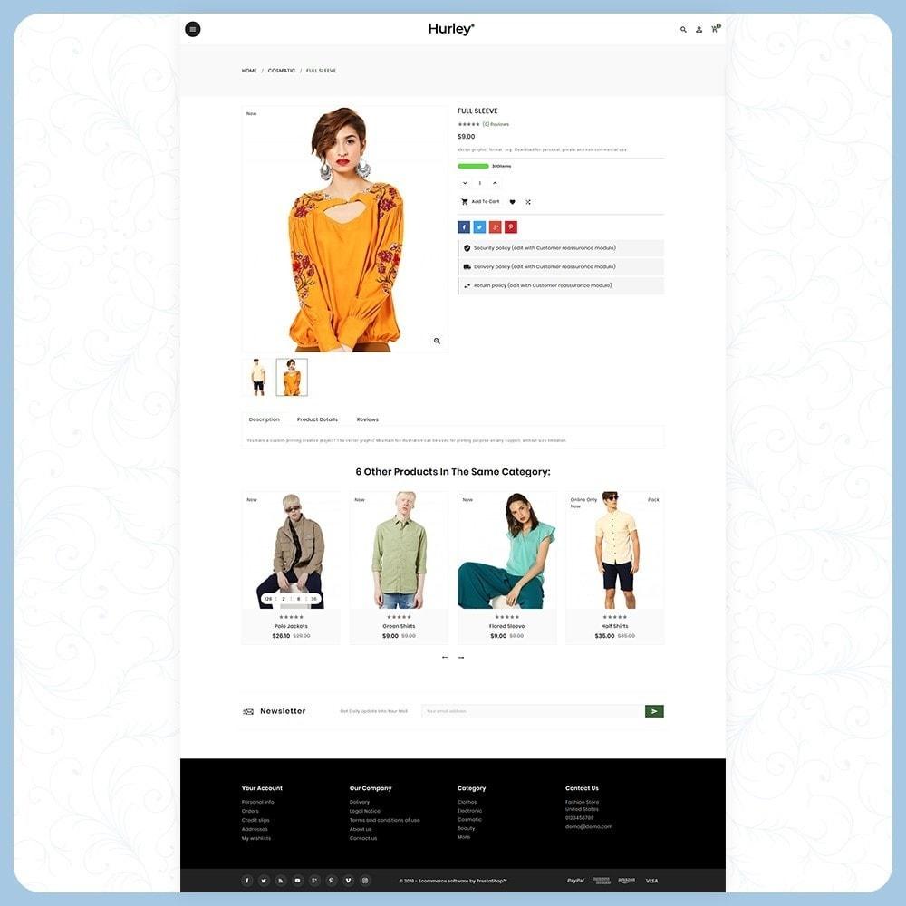 theme - Moda & Calçados - Hurley Fashion Store - 4