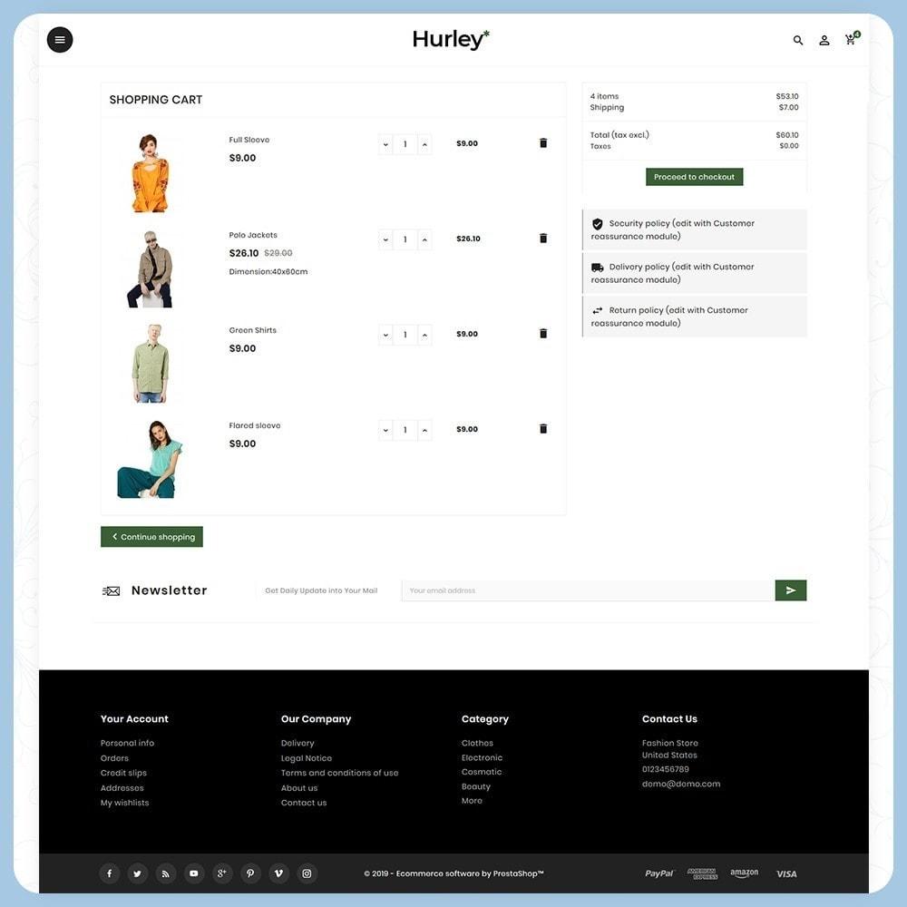 theme - Moda & Calçados - Hurley Fashion Store - 5
