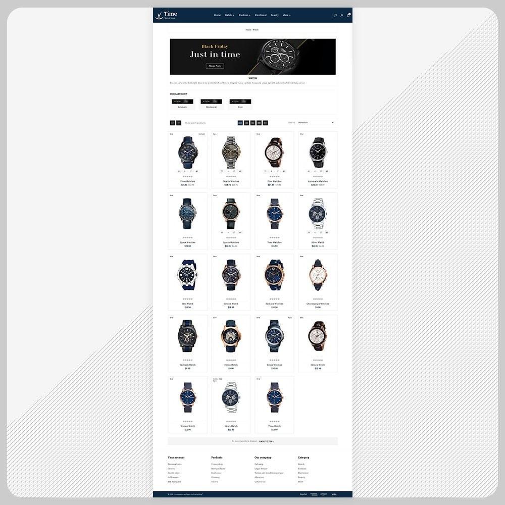 theme - Fashion & Shoes - Time Regarder - Watch Big Mall - 3