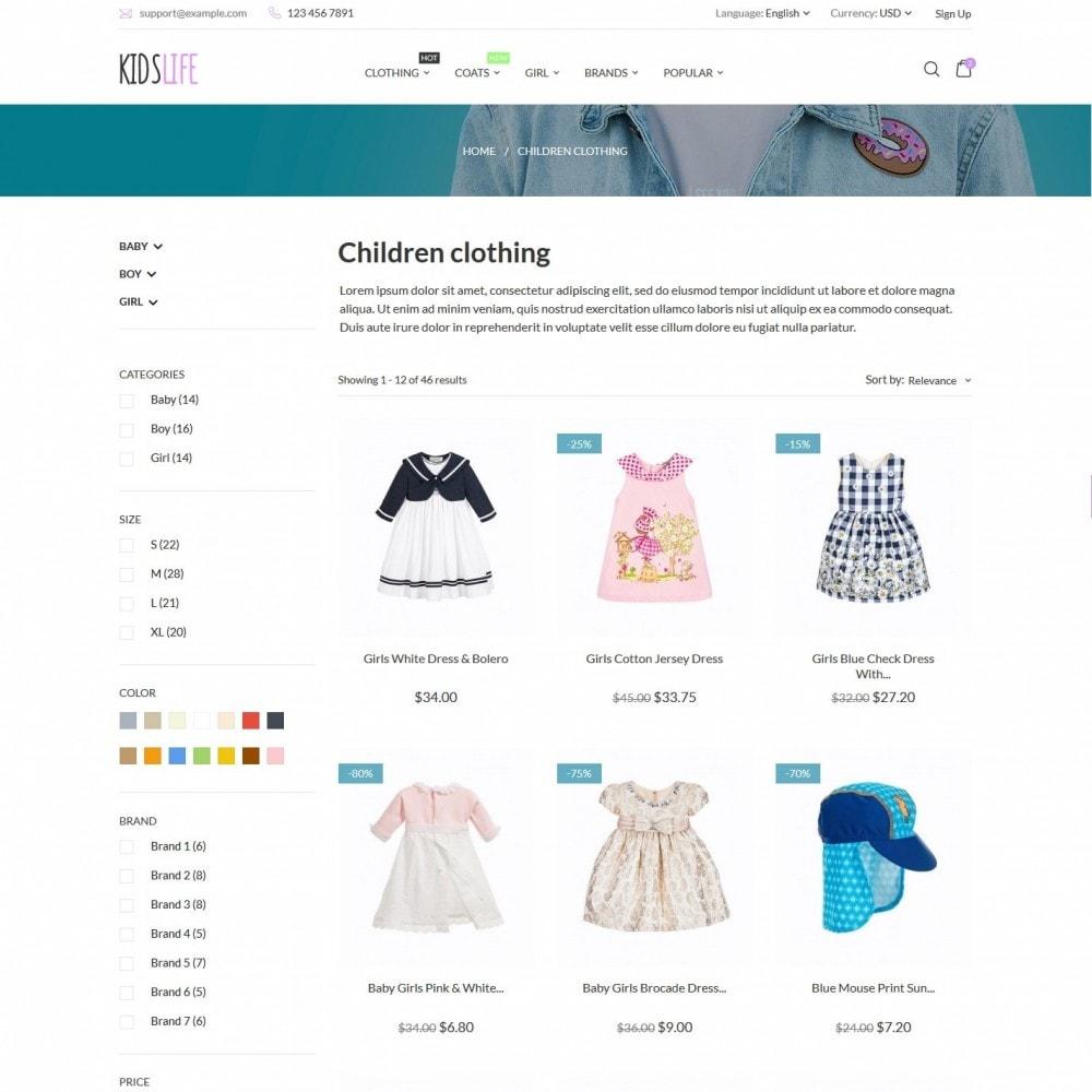 theme - Crianças & Brinquedos - KidsLife - 4