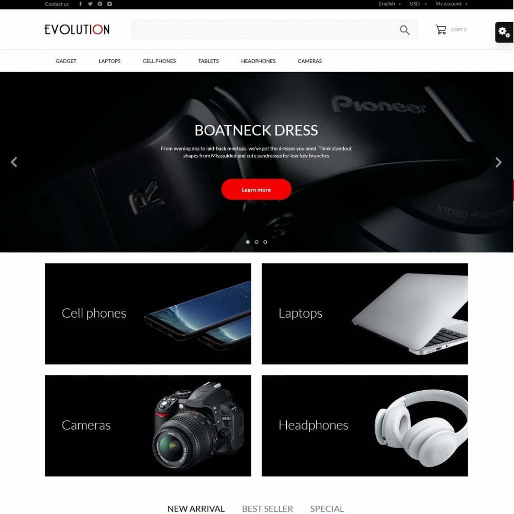 theme - Electronics & Computers - Evolution - High-tech Shop - 2
