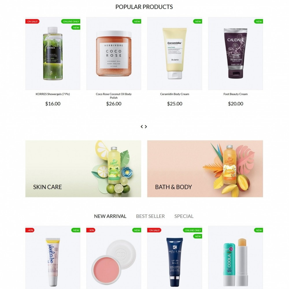 theme - Health & Beauty - Savanna Cosmetics - 3