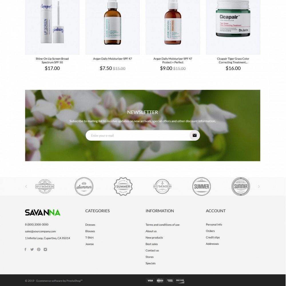 theme - Gesundheit & Schönheit - Savanna Cosmetics - 4