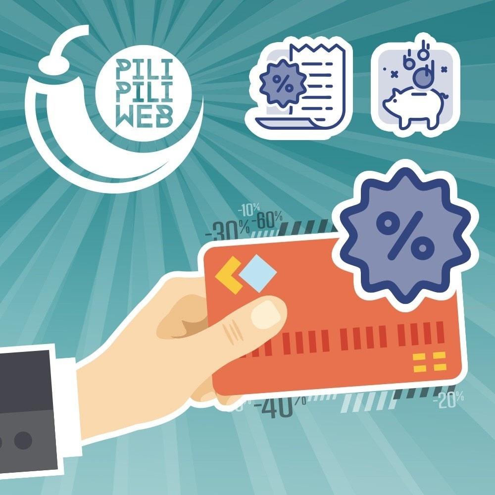 module - Promotions & Cadeaux - Cartes avantages payantes / fidélité / réduction - 1