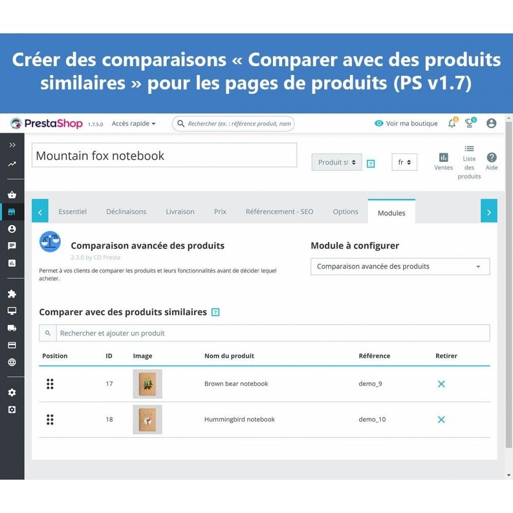 module - Comparateurs de prix - Comparaison avancée des produits - 11