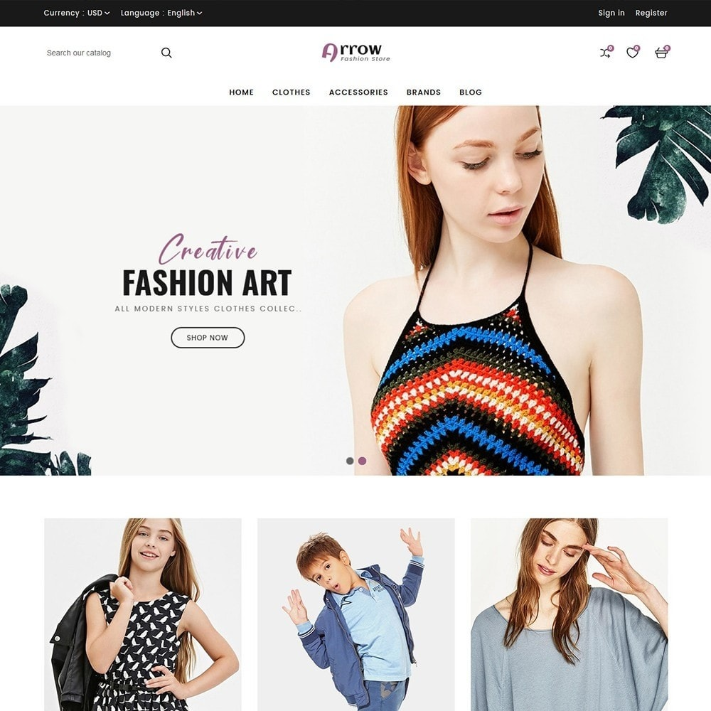 theme - Moda & Calçados - Arrow Fashion Store - 2