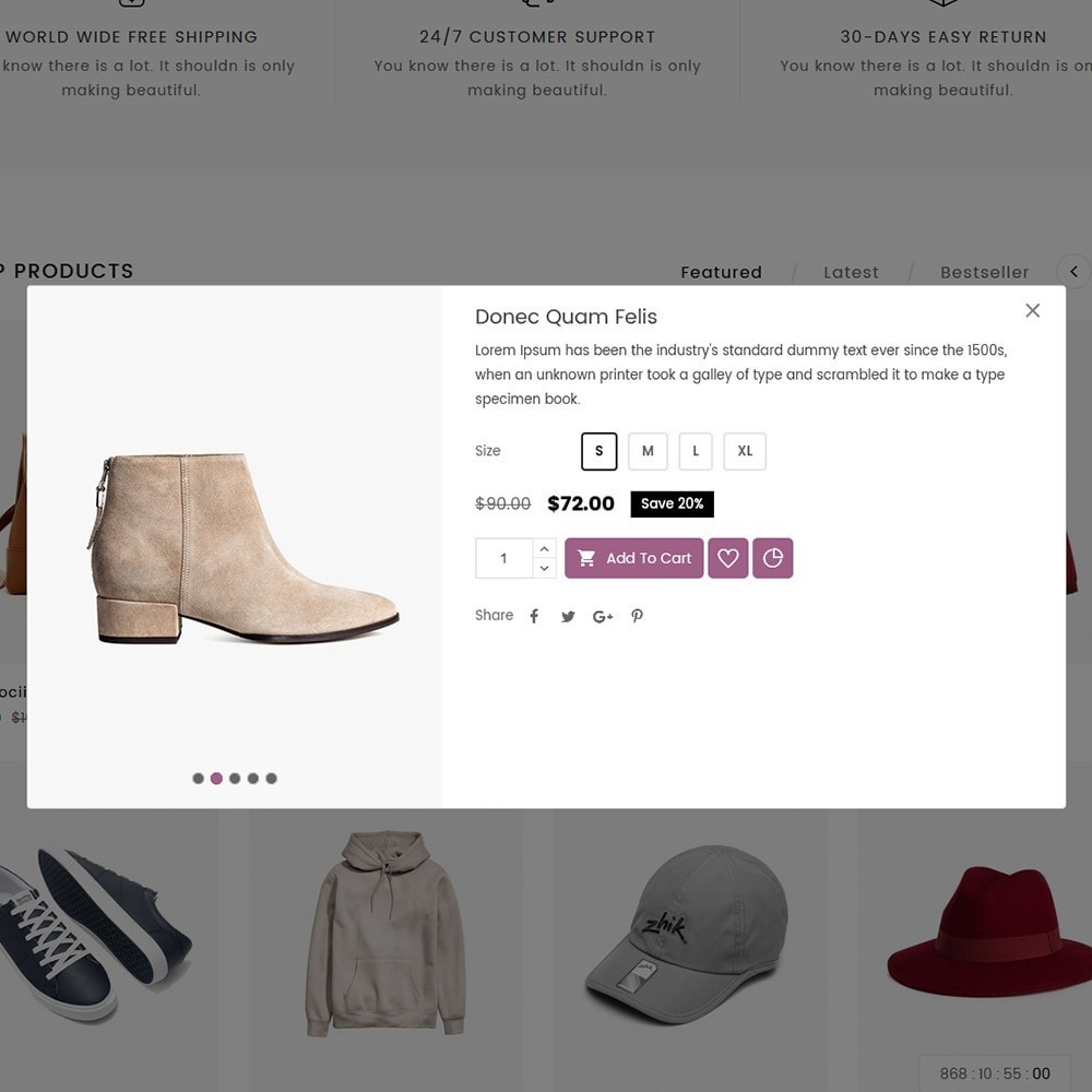 theme - Mode & Schoenen - Arrow Fashion Store - 8