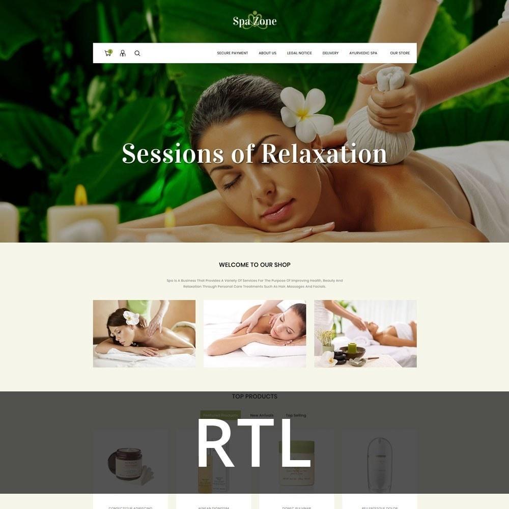 theme - Gesundheit & Schönheit - Spa-zone - De Salon, Spa Prestashop-thema - 4