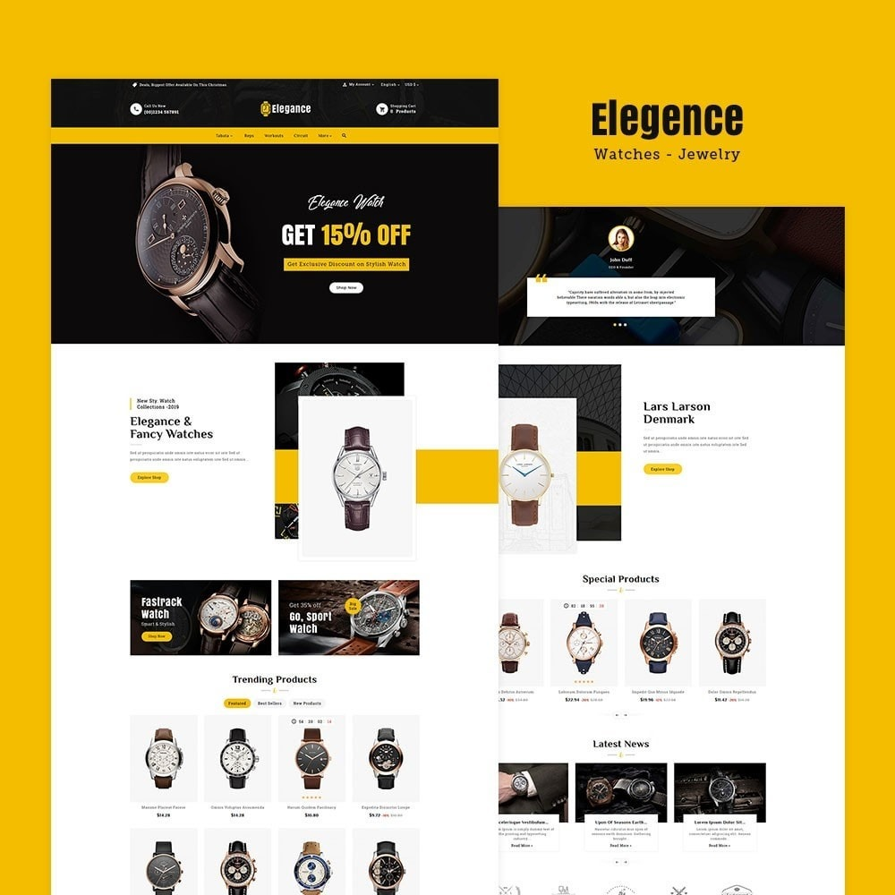 theme - Jewelry & Accessories - Elegance - Luxury Watches & Time - 2
