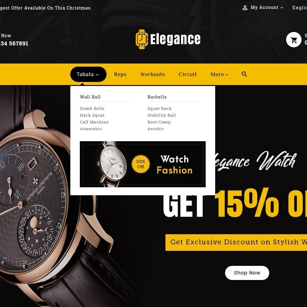 theme - Jewelry & Accessories - Elegance - Luxury Watches & Time - 9