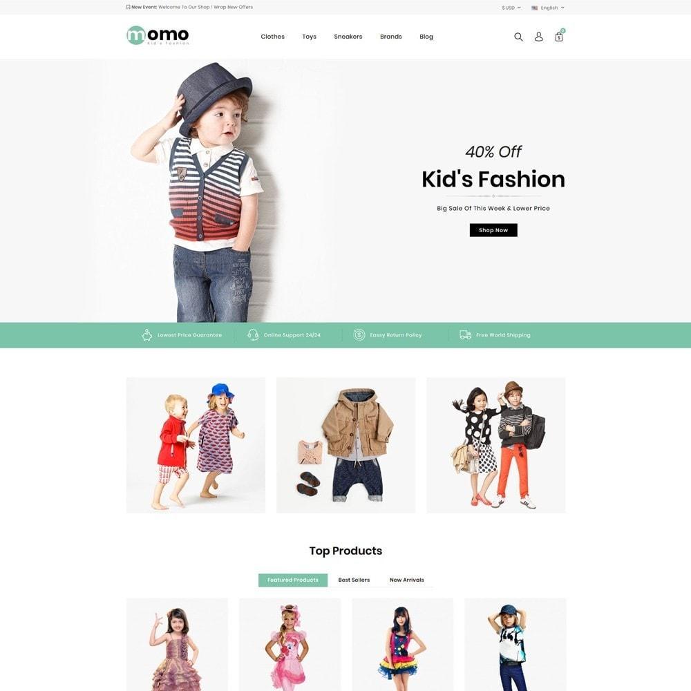 theme - Fashion & Shoes - Momo Kids Fashion Store - 2