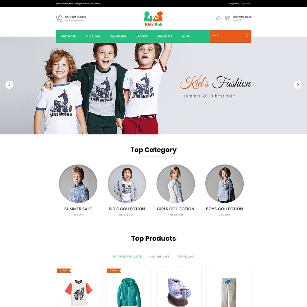 theme - Moda & Calzature - Kids Hub - The Children Fashion Store - 3