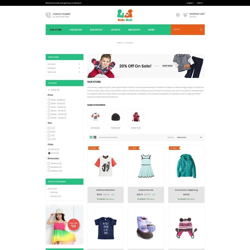 theme - Moda & Calzature - Kids Hub - The Children Fashion Store - 5