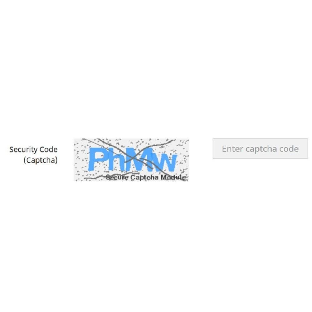 module - Security & Access - Secure Captcha - 1