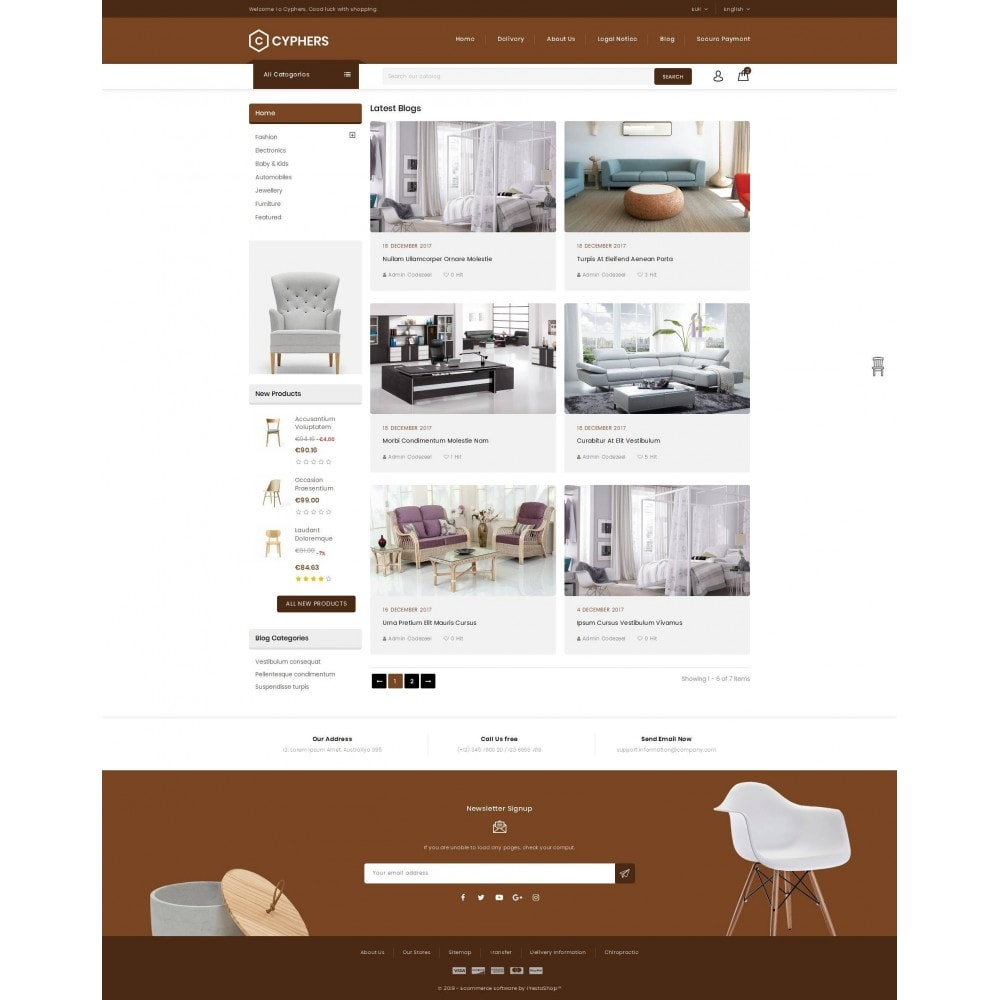 theme - Huis & Buitenleven - Cyphers - Furniture Store - 9