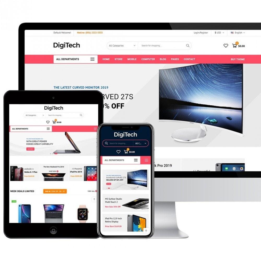 theme - Elektronika & High Tech - DigiTech - 3