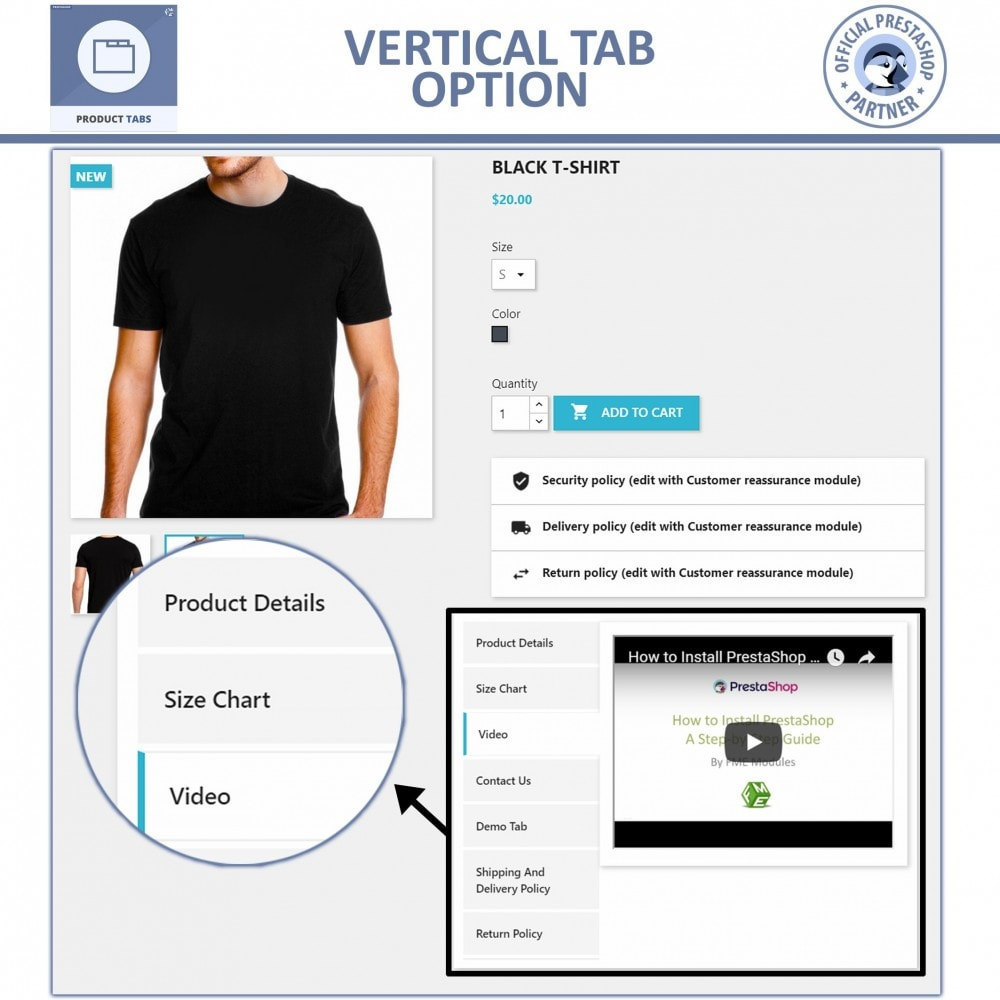 module - Additional Information & Product Tab - Product Tabs - Add Extra Custom Tabs - 4