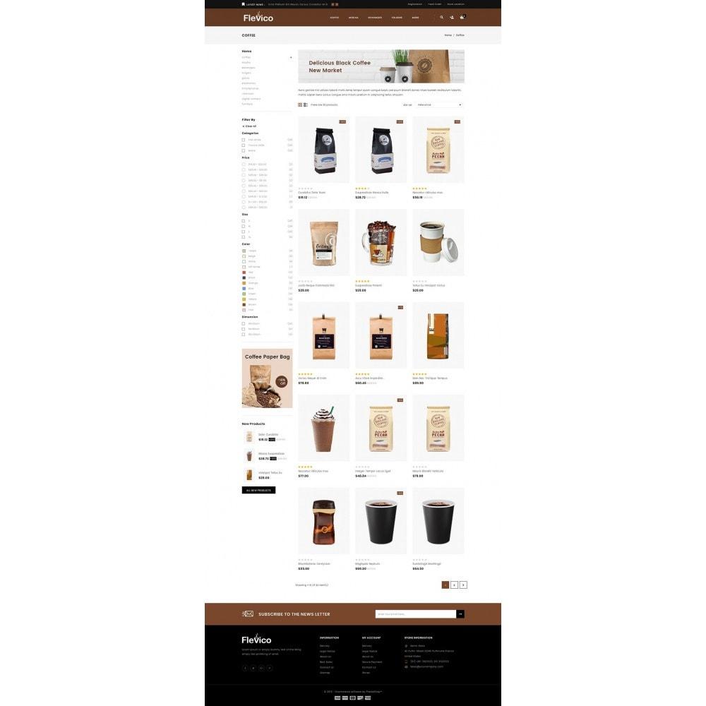 theme - Напитки и с сигареты - Flevico - Tea & Coffee Shop - 3