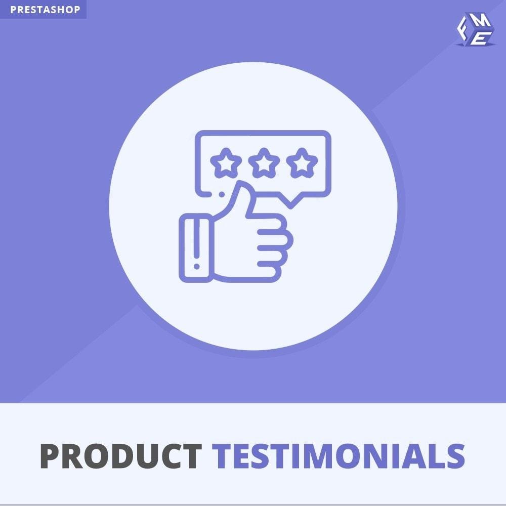 module - Customer Reviews - Customer Reviews + Store Testimonials Module - 1