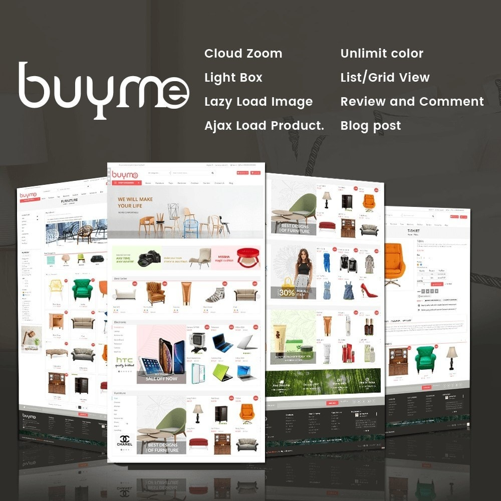 theme - Elektronika & High Tech - BuyMe Market - 1