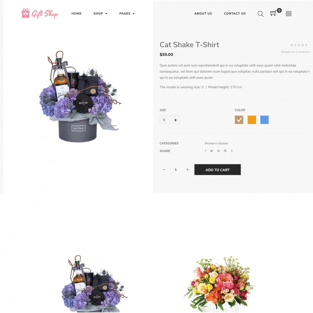 theme - Gifts, Flowers & Celebrations - Babi - Flower Shop Prestashop Theme - 3