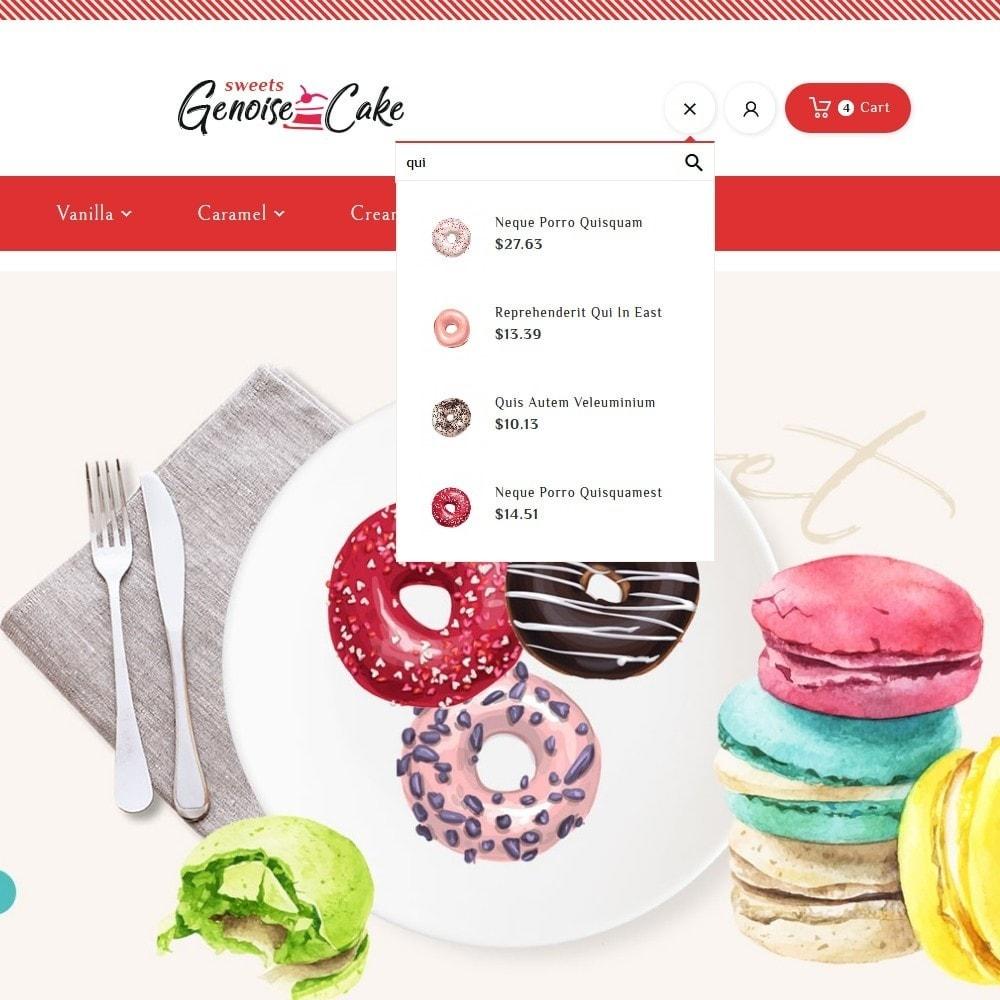 theme - Cadeaux, Fleurs et Fêtes - Genoise - Macaroon Cakes & Sweets - 10