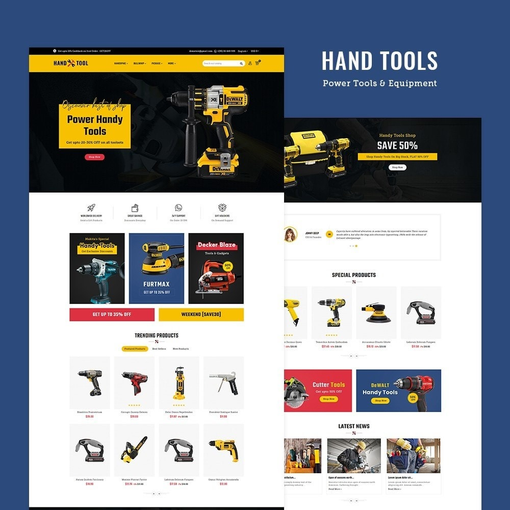theme - Electronics & Computers - Hand Tools & Power Equipment - 2