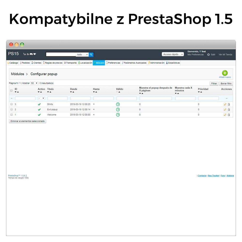 module - Pop-up - Popup: wejście, wyjście, dodanie produktu i newsletter - 11